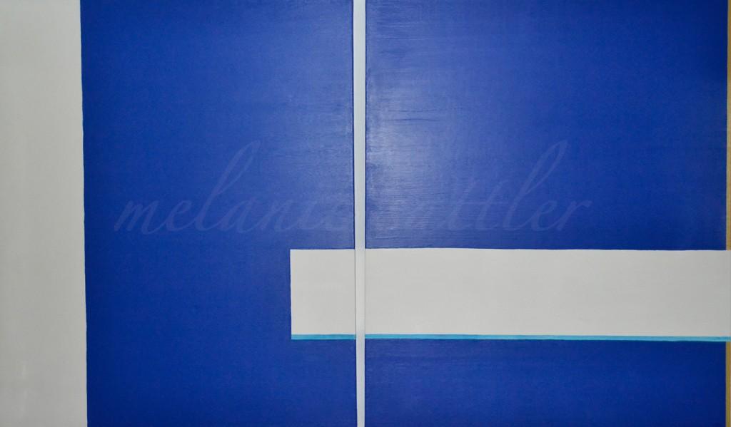 Acryl auf Leinwand Duo 120 x 100 cm
