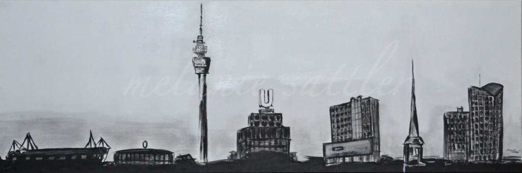 Acryl auf Leinwand 50 x 150 cm