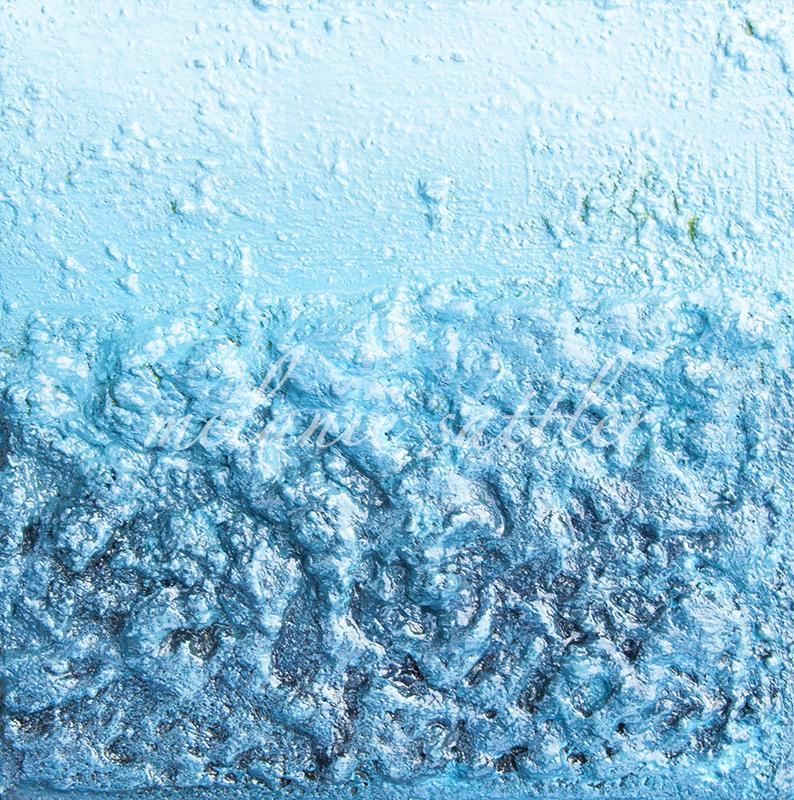 Mischtechnik auf Leinwand 20 x 20 cm
